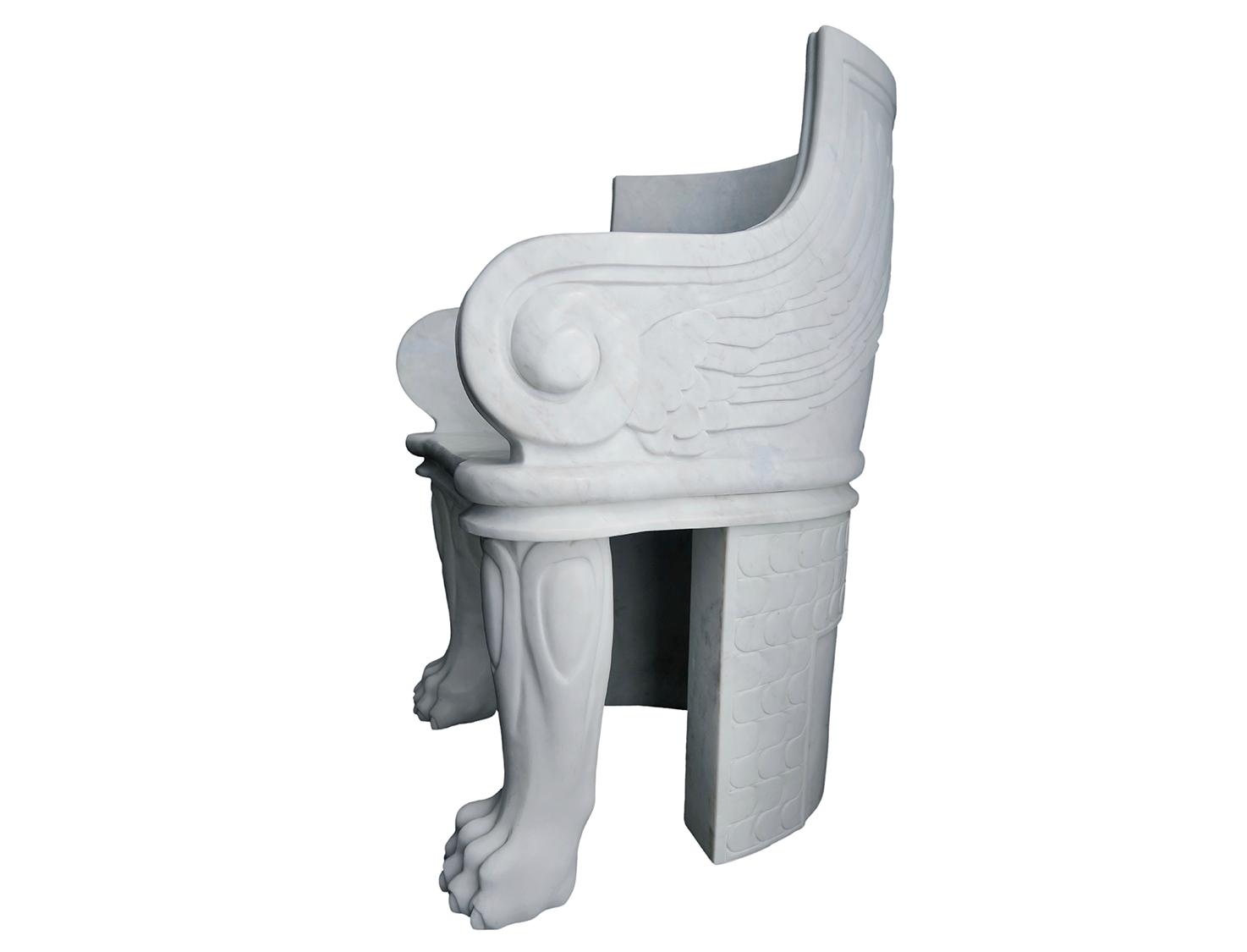Marble Wings Armchair