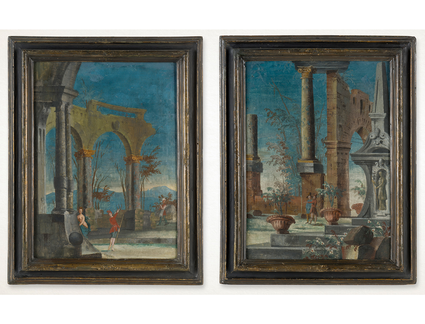 Pair of Venetian Commedia dell