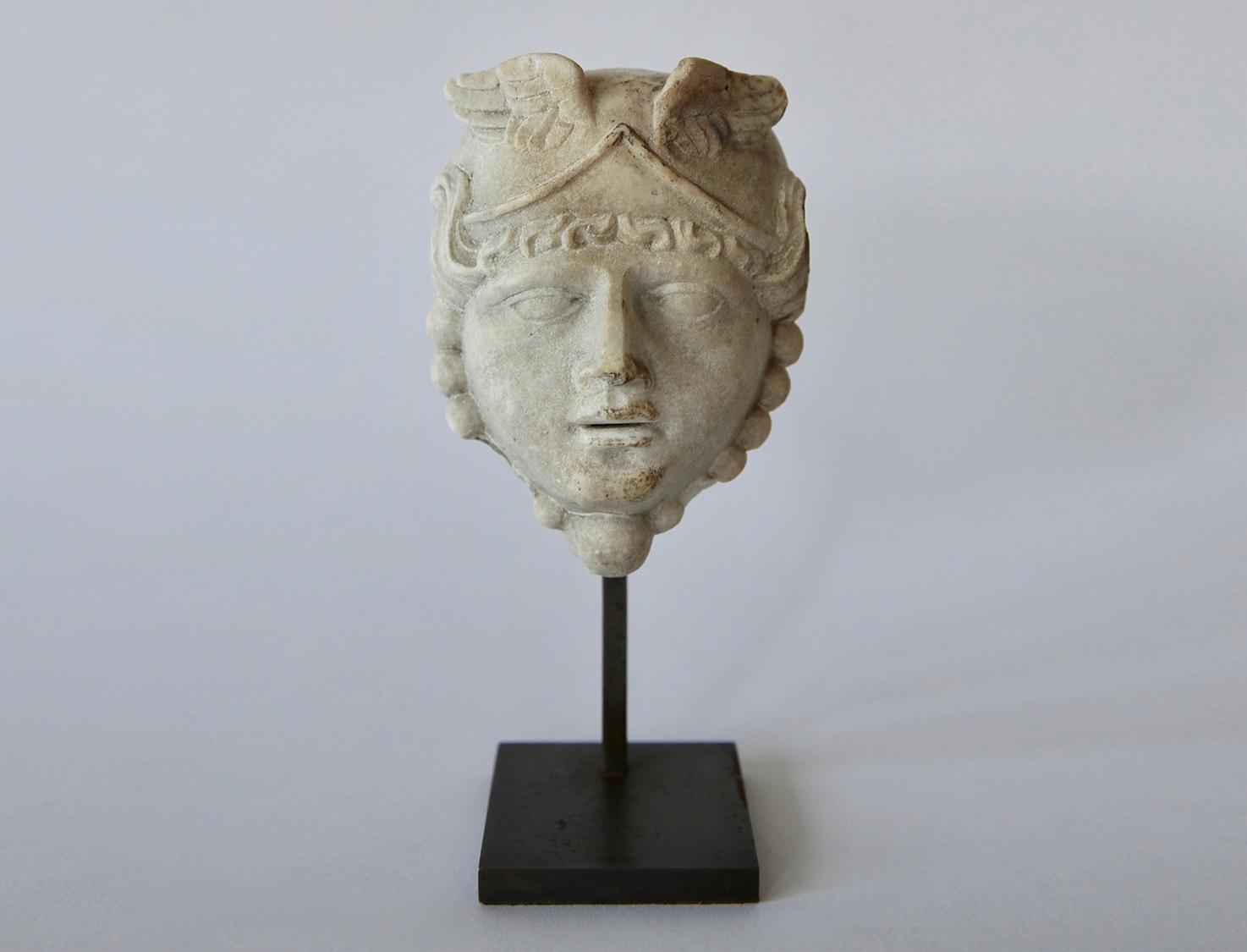 Small Empire 19th Century Medusa Head