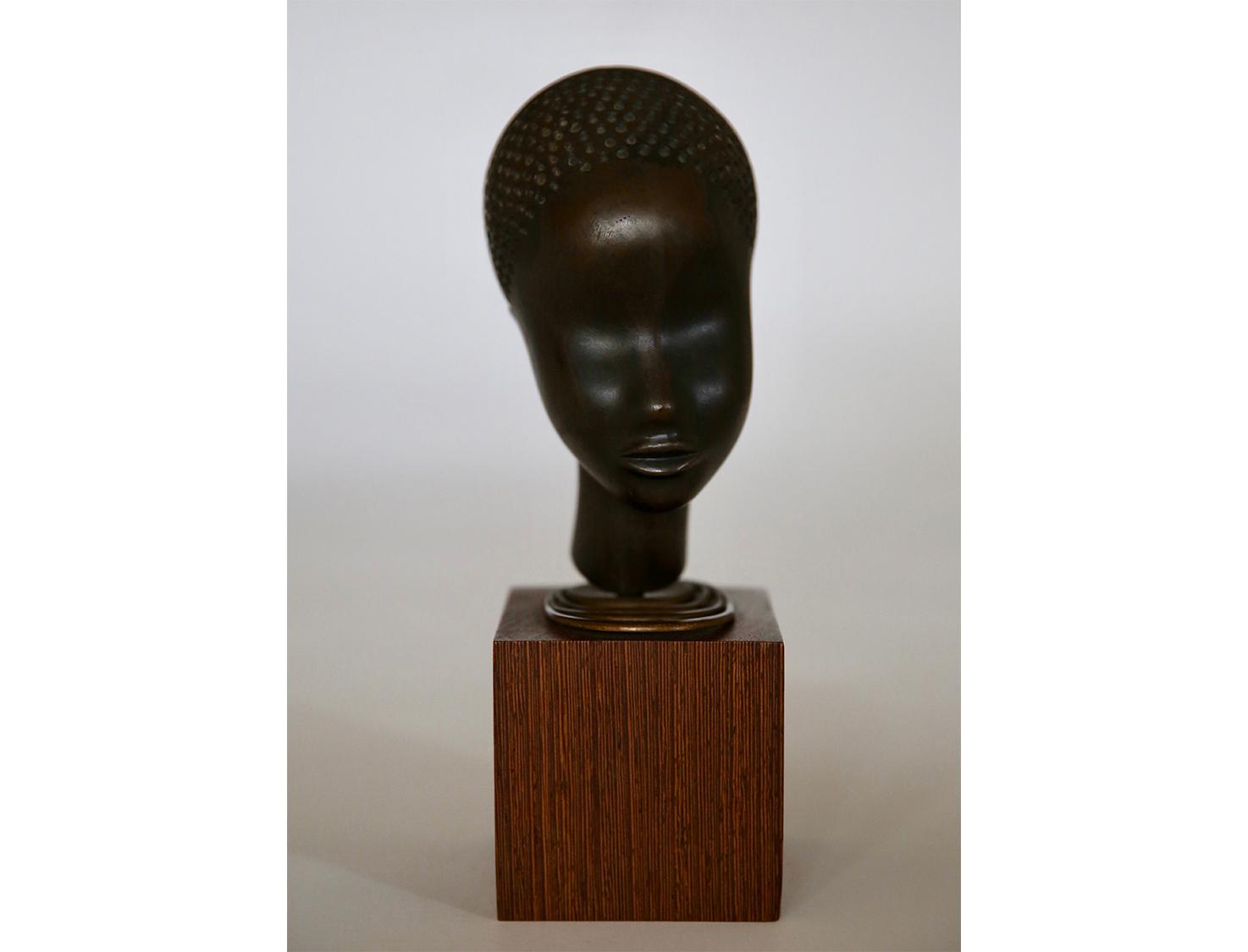 Hagenauer-Bronze-Black-Girl-Vienna-Bust